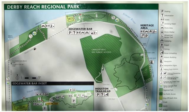 Derby Reach Park Map