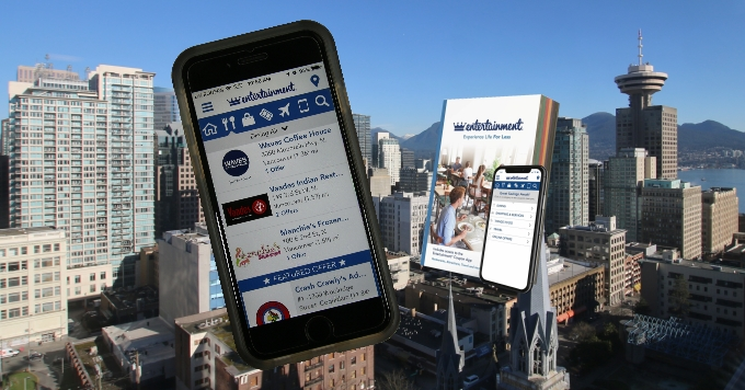 Entertainment Coupon Book App in Vancouver