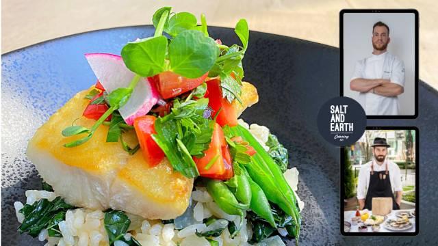 Pan Roasted BC Ling Cod