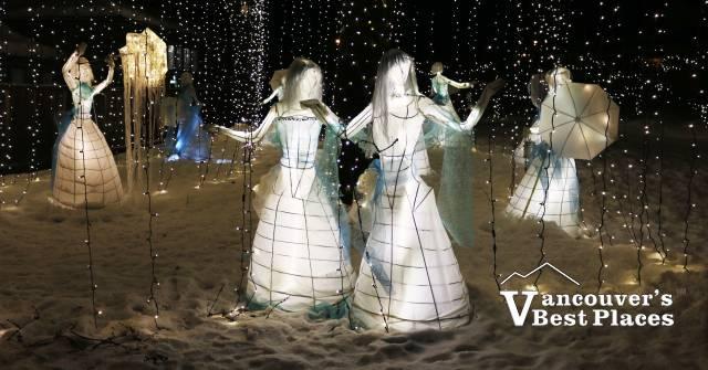 Burnaby Village Christmas Display