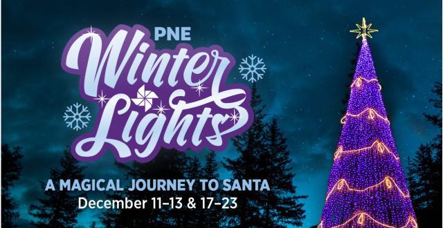 PNE WinterLights Drive-Thru in 2020