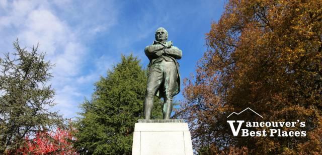 Robbie Burns Statue at Stanley Park