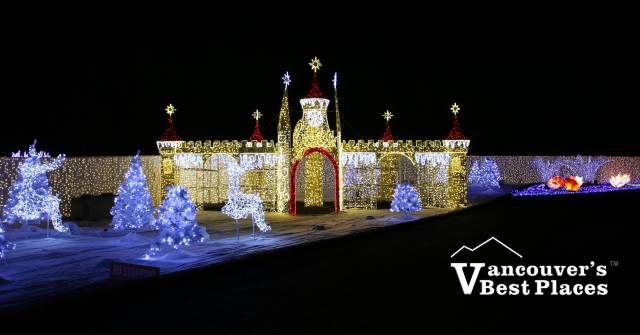 Christmas Castle at Glow Langley