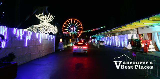 PNE WinterLights Drive-Thru