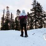 Snowshoeing at Grouse