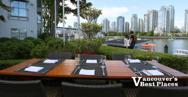 Dockside Restaurant Outdoor Patio