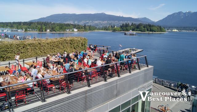 Tap and Barrel at Jack Poole Plaza