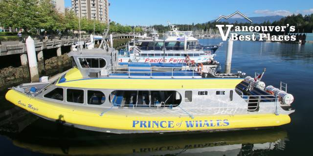 Prince of Whales Boat at Coal Harbour Dock