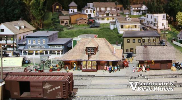 Maple Ridge Museum Model Train Village
