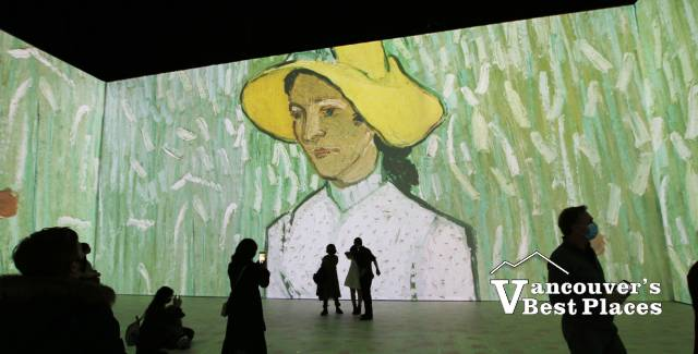 Van Gogh Painting on Different Screens