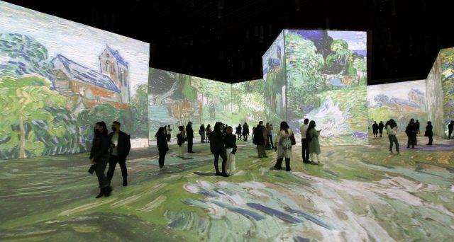 Van Gogh Art at Imagine Van Gogh