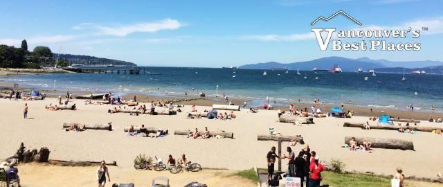 View of Kitsilano Beach