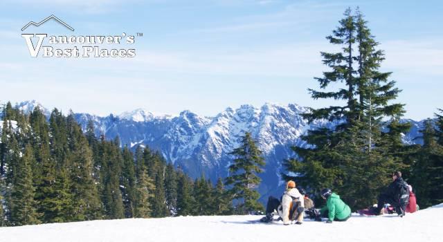 Cypress Mountain in Winter