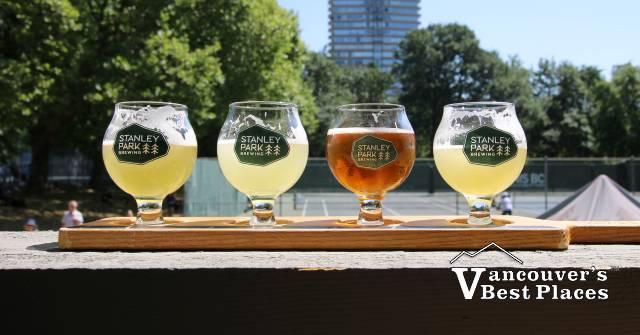 Stanley Park Beer Samples