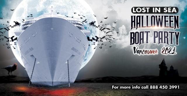 Lost in Sea Halloween Boat Party