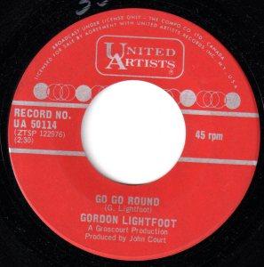 Gordon Lightfoot - Go Go Round 45 (UA Canada).jpg