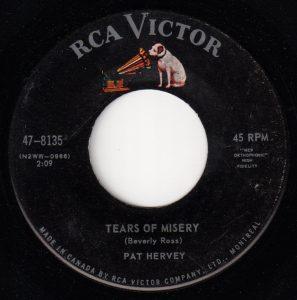 Tears of Misery by Pat Hervey