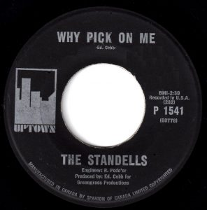 Why Pick On Me by The Standells
