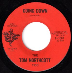 Going Down by Tom Northcott Trio