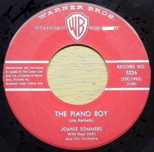 The Piano Boy by Joanie Sommers