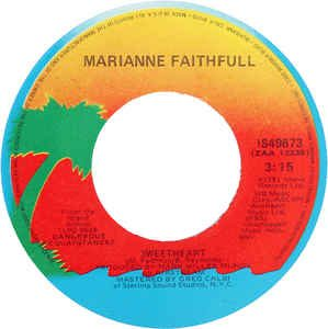 Sweetheart by Marianne Faithfull