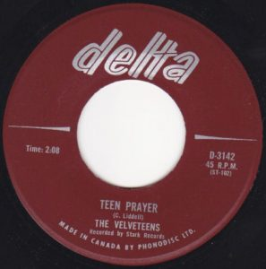 Teen Prayer by The Velveteens