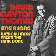 Sing A Song by David Clayton-Thomas