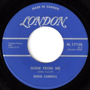 Gone From Me by Eddie Carroll