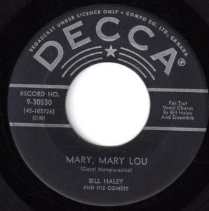 Mary, Mary Lou by Bill Haley