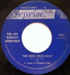 The Wind Cries Mary by Jimi Hendrix