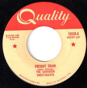 Freight Train by The Canadian Sweethearts