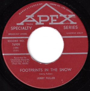 Footprints in the Snow by Jerry Fuller