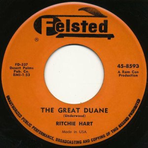 The Great Duane by Ritchie Hart