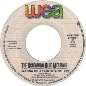 I Wanna Be A Flintstone by The Screaming Blue Messiahs