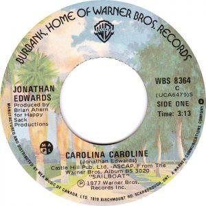 Carolina Caroline by Jonathan Edwards