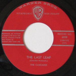 The Last Leaf/Shy Girl by The Cascades
