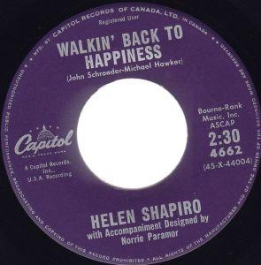 Walkin' Back To Happiness by Helen Shapiro