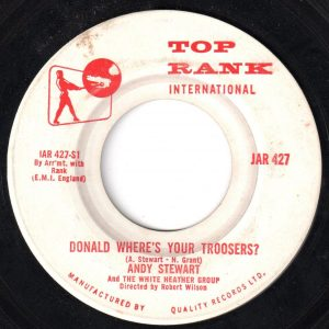 Donald Where's Your Troosers? by Andy Stewart