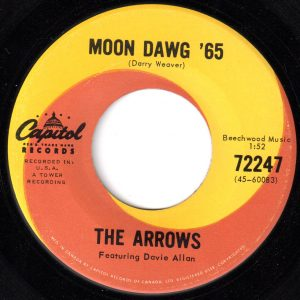 Moon Dawg '65 by The Arrows Featuring Davie Allan