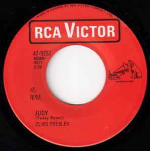 Judy by Elvis Presley