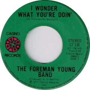 I Wonder What You're Doin' by The Foreman Young Band