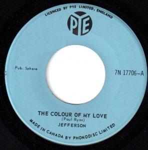 The Colour Of My Love by Jefferson
