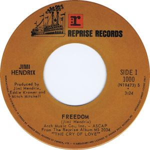 Freedom by Jimi Hendrix