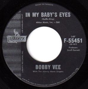 In My Baby's Eyes by Bobby Vee