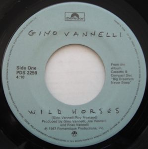 Wild Horses by Gino Vannelli