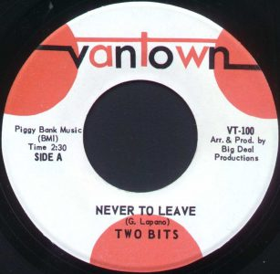 Never To Leave by Two Bits