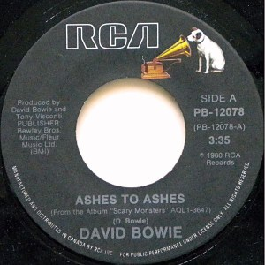 Ashes To Ashes by David Bowie