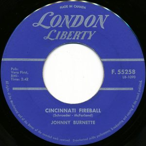 Cincinnati Fireball by Johnny Burnette