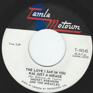 The Love I Saw In You Was Just A Mirage by Smokey Robinson And The Miracles