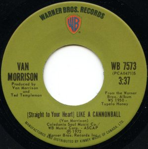 Like A Cannonball by Van Morrison